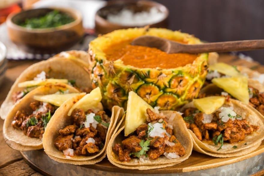 Corona de Tacos al Pastor (RECETA)