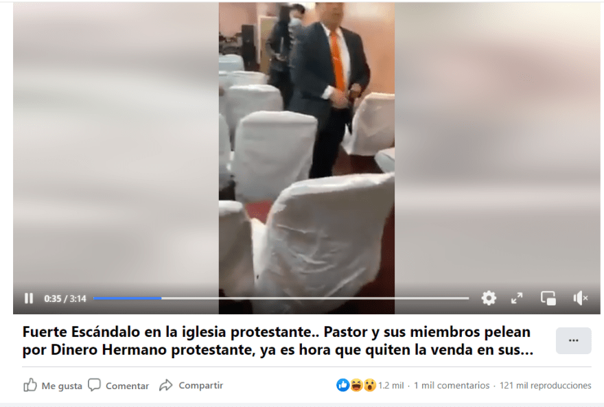 """Pastor fight parishioners money: """"When did I steal?"""""""