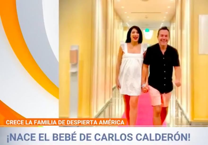 Carlitos Calderón bebé