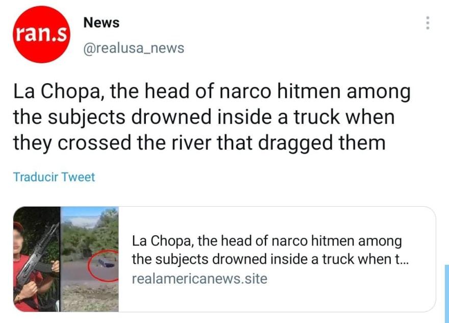 """""""La Chopa"""", jefe de sicarios de Los Blancos de Troya iba contra gente de """"El Mencho"""""""