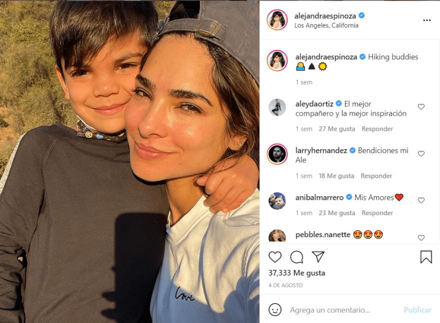 Alejandra Espinoza hijo doctor: La terrible experiencia que pasó