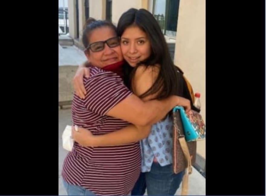 Jacqueline Hernández, secuestrada hace 14 años, es hallada sana y salva y se reencuentra con su madre