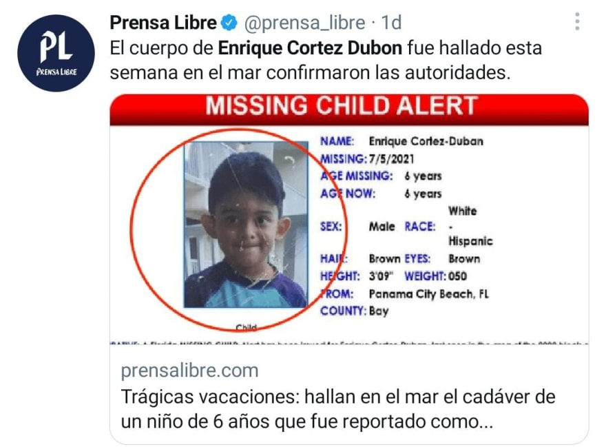 Dan más detalles de la muerte de Enrique Cortez Dubon