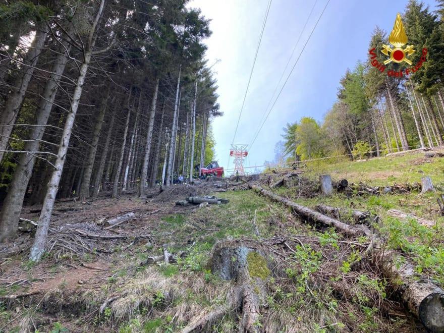 Tragedia Teleférico Italia: las imágenes más recientes