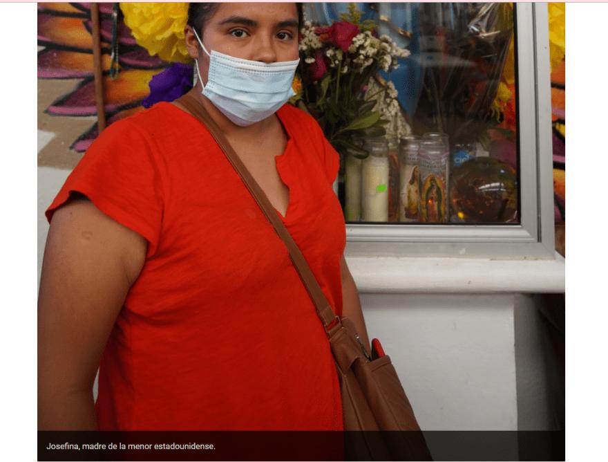 madre inmigrante ayuda hija: Huyeron de Jalisco