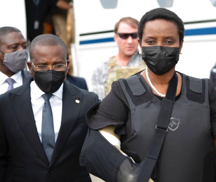 Martine Moise recuerda cómo mataron a tiros a su esposo, presidente de Haití
