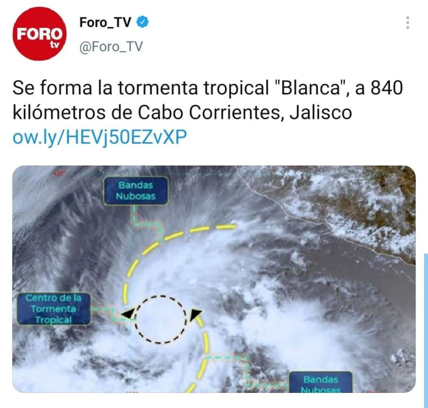 Tormenta Blanca, Temporada de huracanes