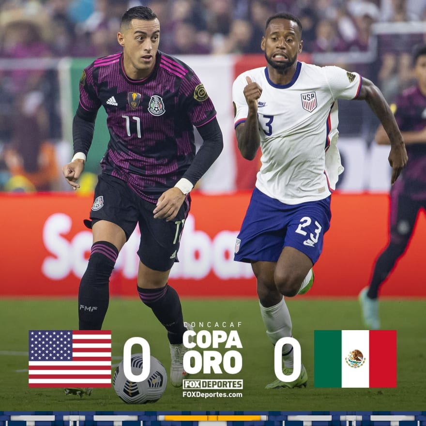 Gold Cup Final: Americans dominated the second half