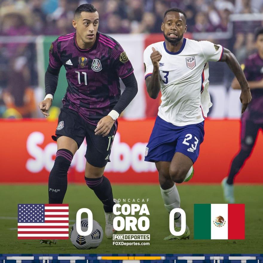 Final Copa Oro: Los americanos dominaron la segunda mitad