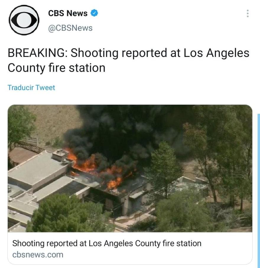 Revelan cómo fue asesinado el bombero en Agua Dulce, California.