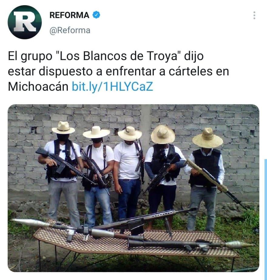 Tras la muerte de La Chopa, narcos se 'apoderan' de las calles en México
