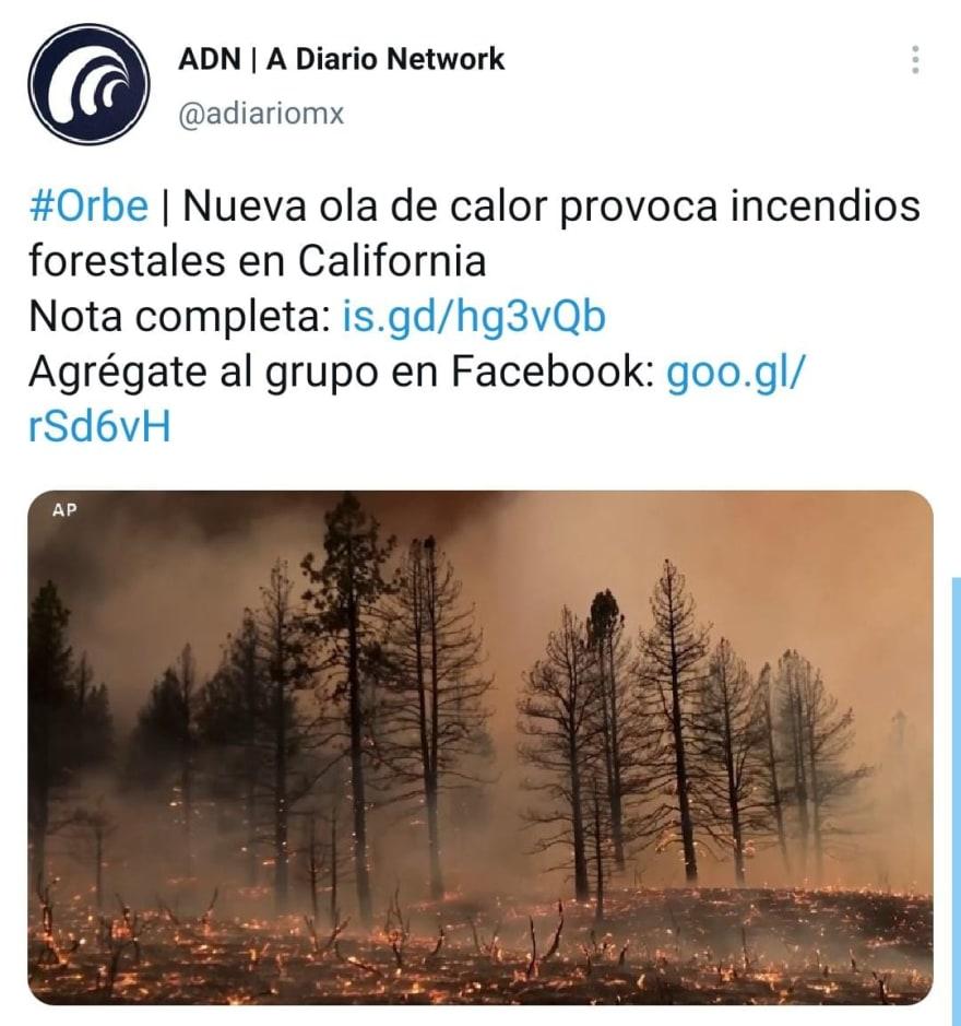 Biden anuncia acción contra incendios