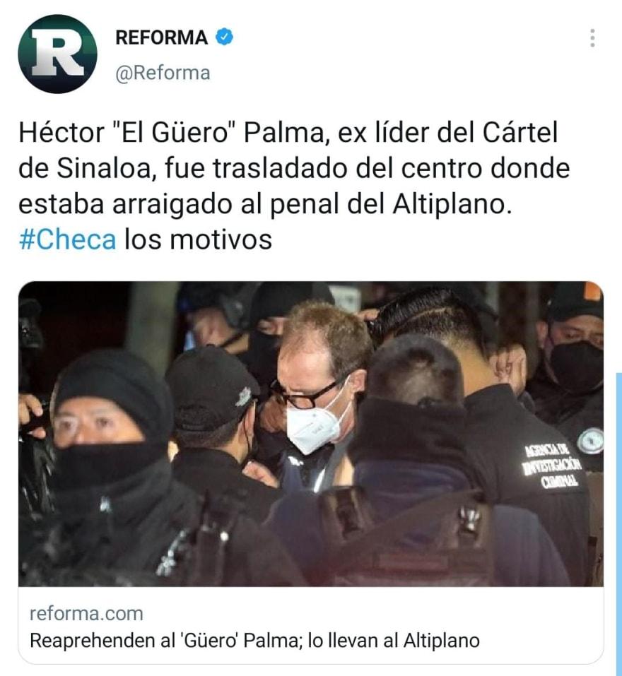 """Héctor """"El Güero"""" Palma Salazar y sus 'pecados'"""