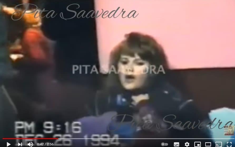 Tía Jenni Rivera cantando Pita Saavedra 3