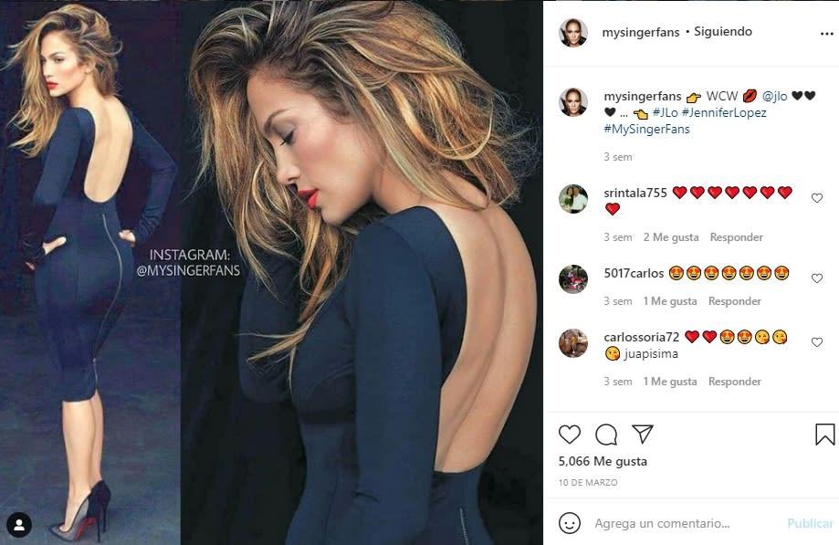 Jennifer López JLo vestido aberturas sin ropa interior 4