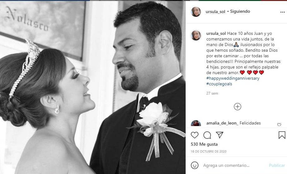 Priscila Ángel felicita hermana Ursula Sol 5