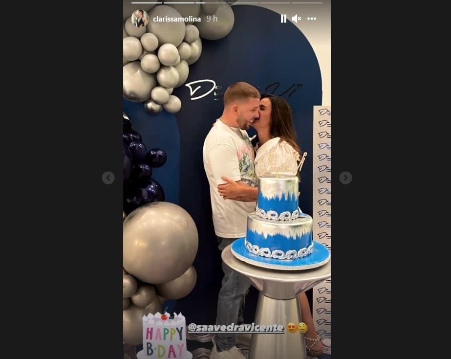 Clarissa Molina cumpleaños novio