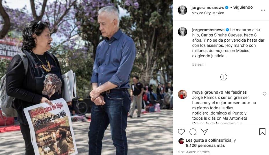 Fortuna Jorge Ramos salario cuánta gana Jorge Ramos Univisión