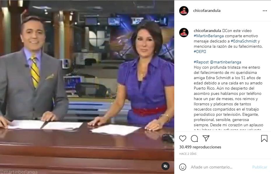 La tragedia de Edna Schmidt: Su despido de Univisión