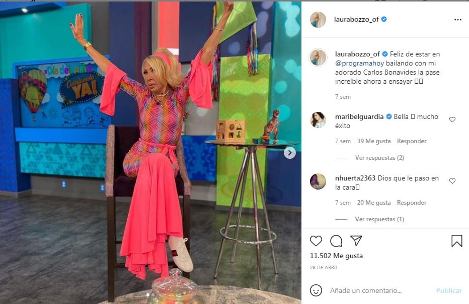 Laura Bozzo responde críticas, mostrando vestuario de 'Hoy'