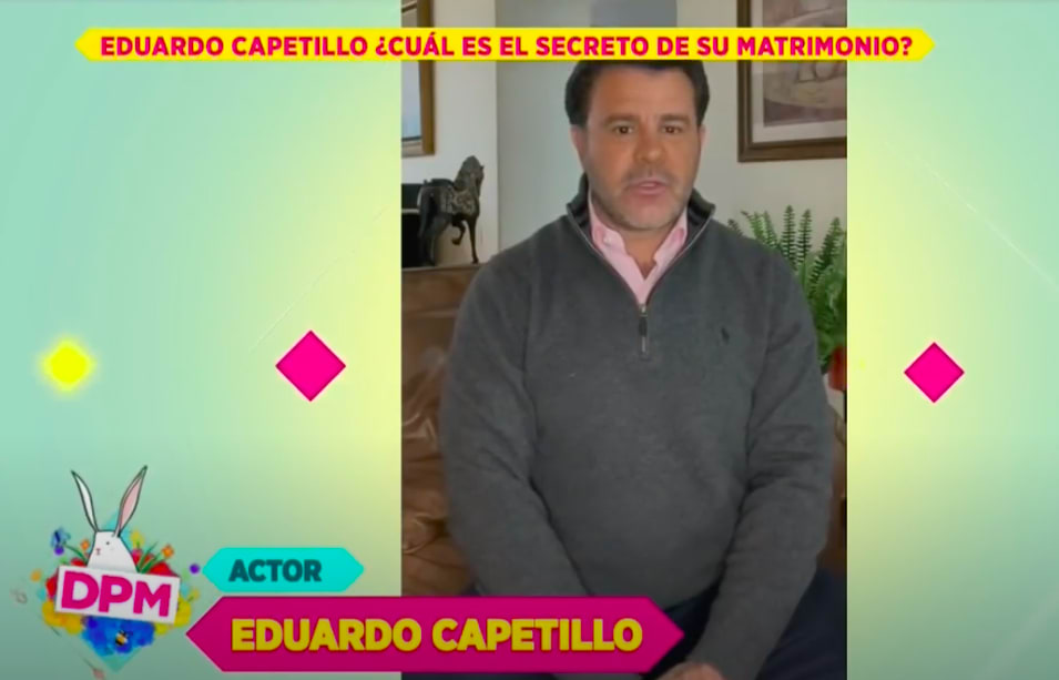 Eduardo Capetillo ¿celoso?