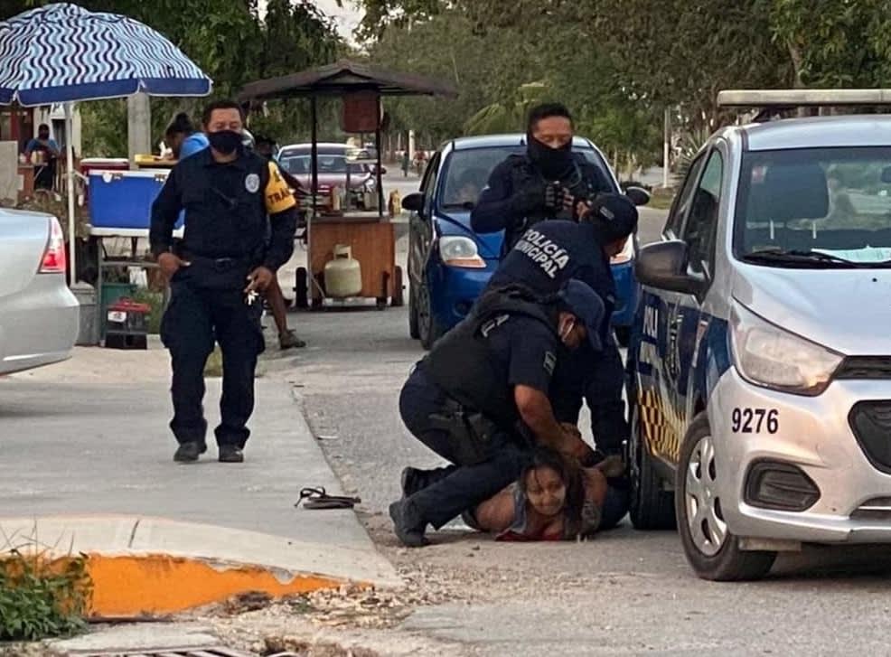 Victoria Salazar Arriaza mujer murió sometida policías Tulum Quintana Roo 2