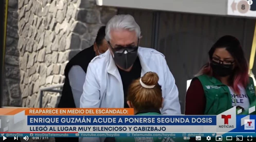 Alberto Vázquez eterna rivalidad Enrique Guzmán 3