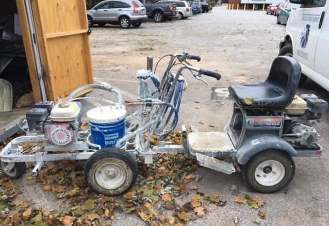 Graco Line Lazer 3900 with Line Driver