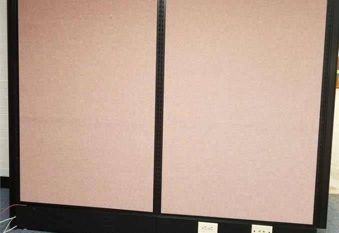 Office Partitions with Power