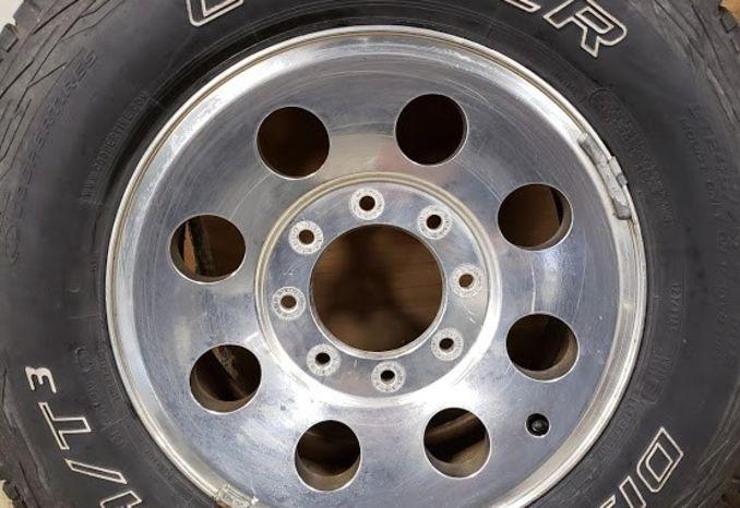 Aluminum Wheels and Tires