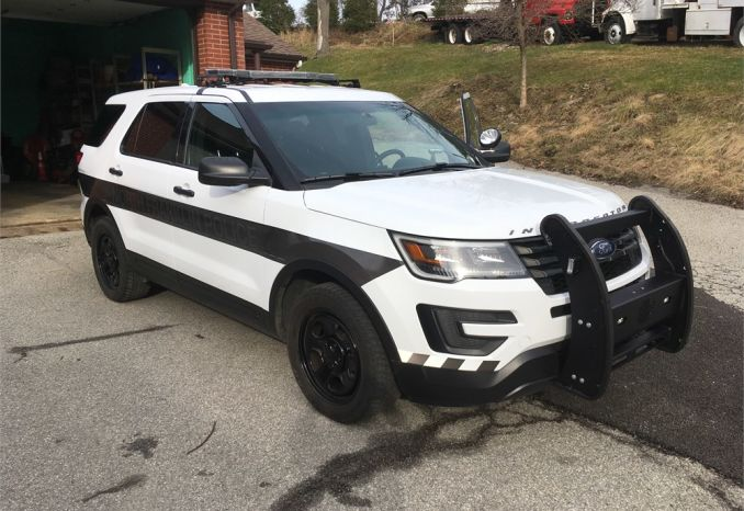2016 FORD EXPLORER SUV POLICE INTERCEPTOR