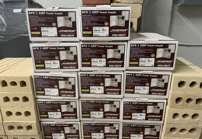 Securitron BPS-24-1 Power Supply LOT (14 Units)