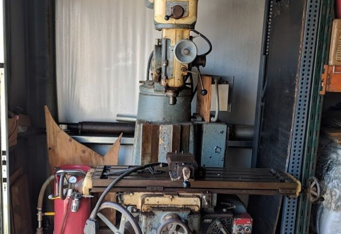 EXCELLO, model 602S vertical milling machine