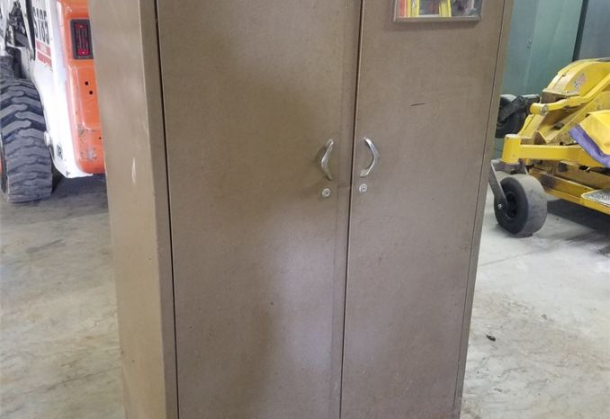 Brown Utility Cabinet