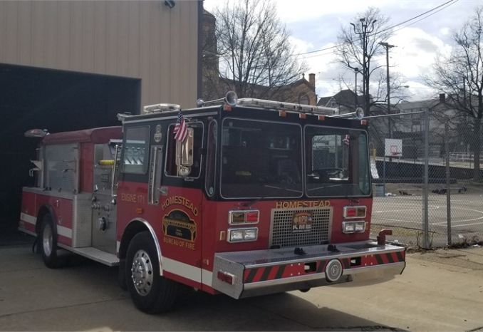 1990 Kovatch Fire Truck