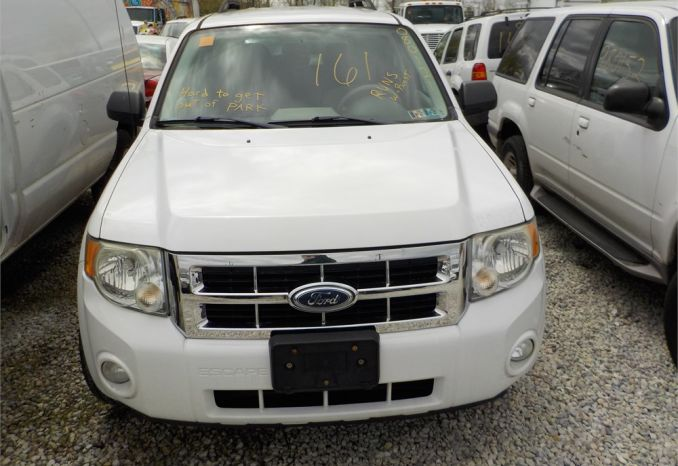 2008 FORD ESCAPE HYBRID 4X4 SUV / LOT161-080121