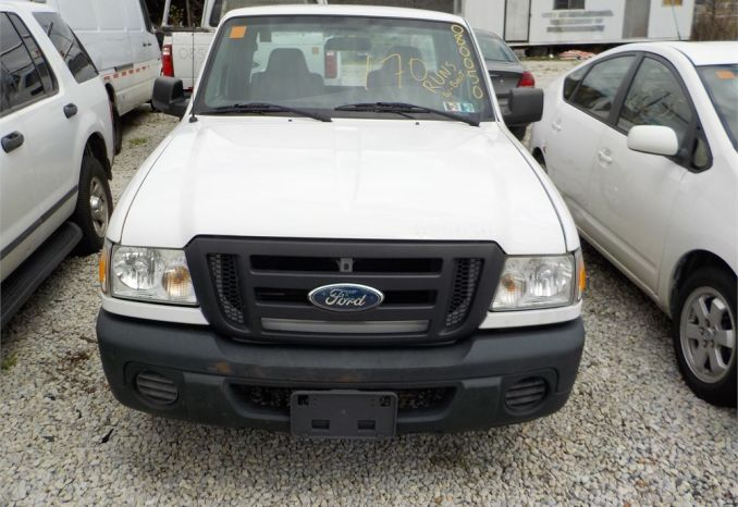 2008 FORD RANGER 4X2 PICKUP / LOT170-080050