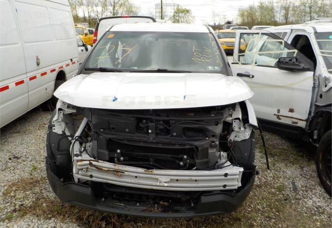 2016 FORD POLICE INTERCEPTOR SUV 4X4 /LOT74-165215