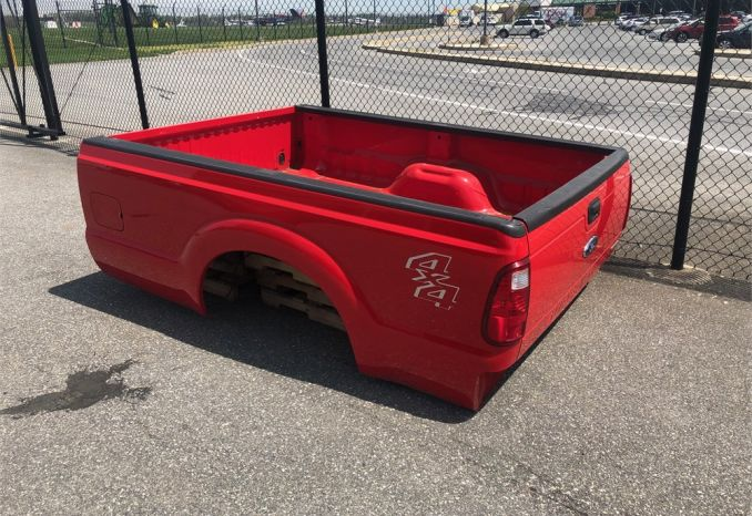 2016 F250 Ford Bed - Good Condition - Red