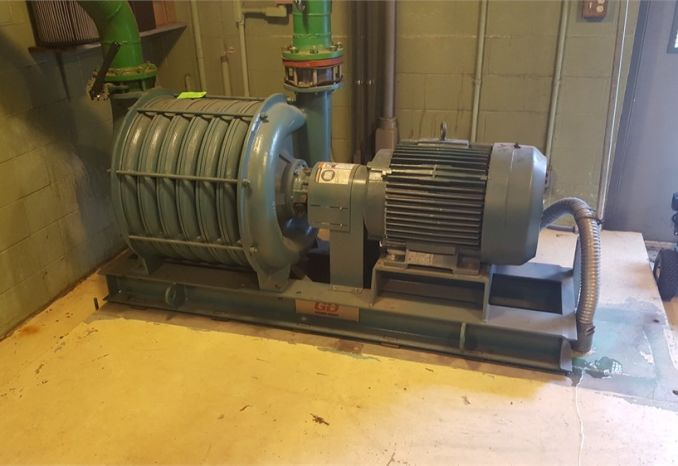 Gardner-Denver model 73206 multistage blower