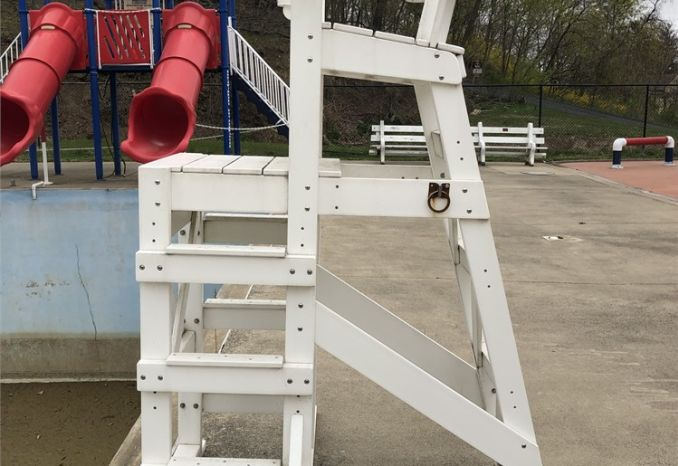 "Platform Lifeguard Chair - 64"" Seat Height"