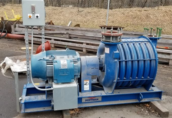 Gardner-Denver multistage centrifugal blower  Model 73207