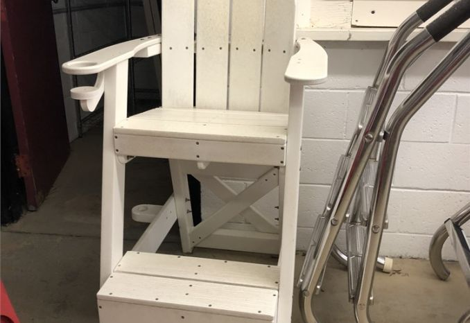 "Platform Lifeguard Chair - 30"" Seat Height"