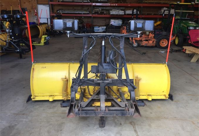 7.5 Ft Fisher Minute Mount Plow