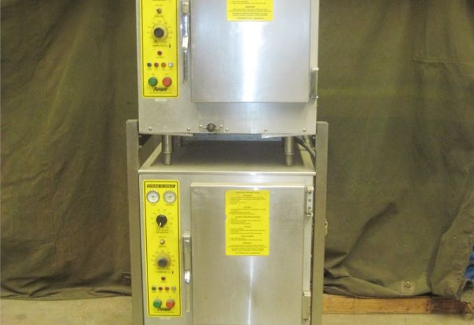 2 Accu Temp Steam and Hold ovens