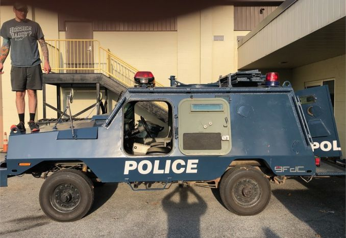 1980 Peace Keeper Armored Vehicle