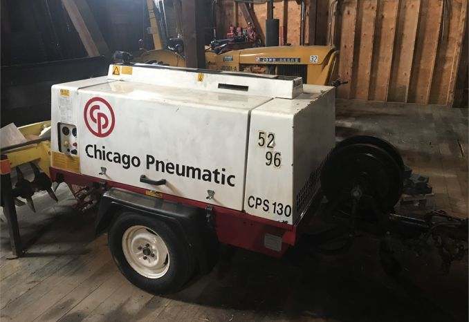 1996 Chicago Pneumatic Air Compressor CPS-130