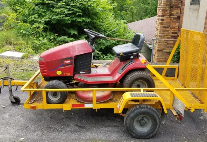 "38"" Toro Mower w/Trailer"