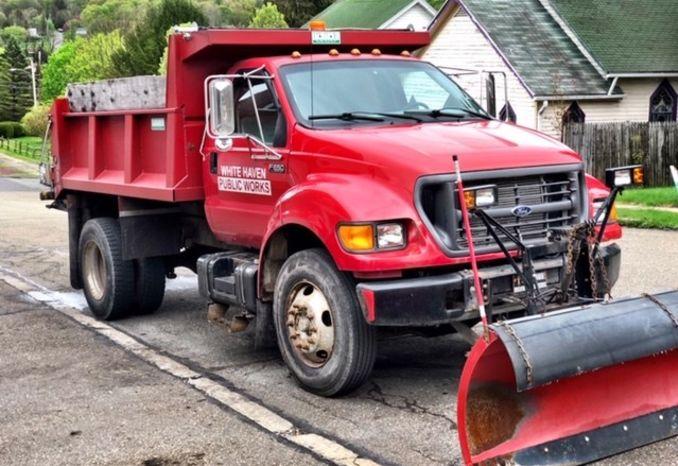 2001 F650 Dump Truck