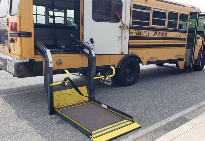 2008- Bluebird Vision - 39 Passenger School Bus with Lift